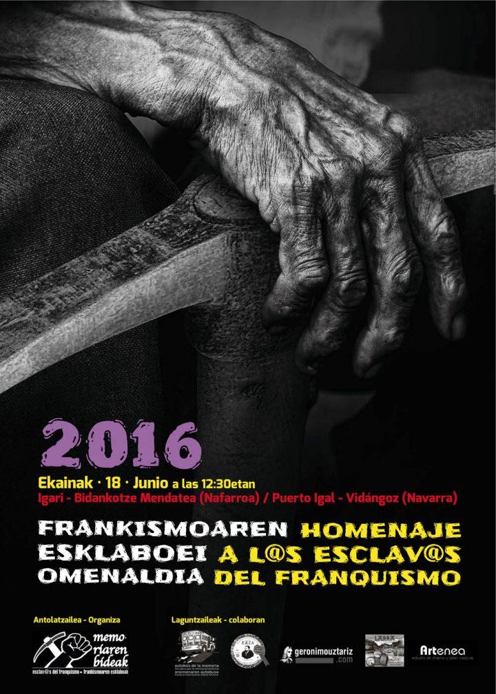 Reflejo en prensa del homenaje 2016